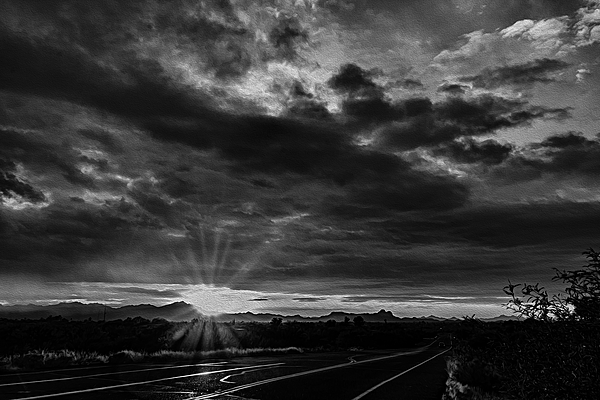 Valley Sunset No28 Photograph