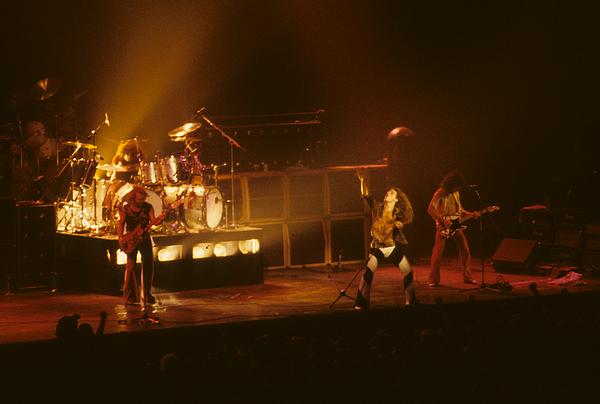 Rich Fuscia - Van Halen opening for Black Sabbath