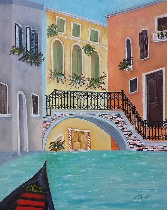Judy Jones - Venice in Summer