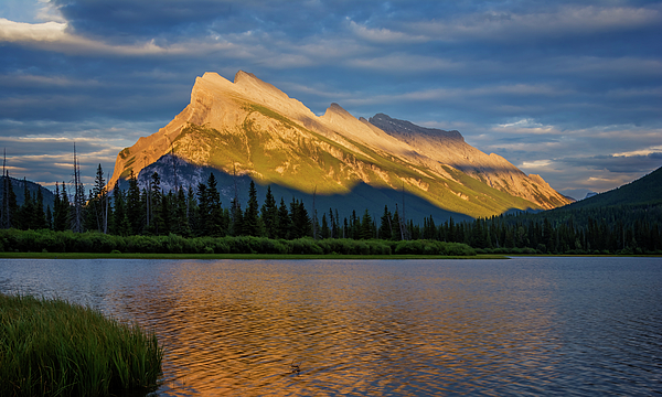 Joan Carroll - Vermillion Lakes and Mt Rundle