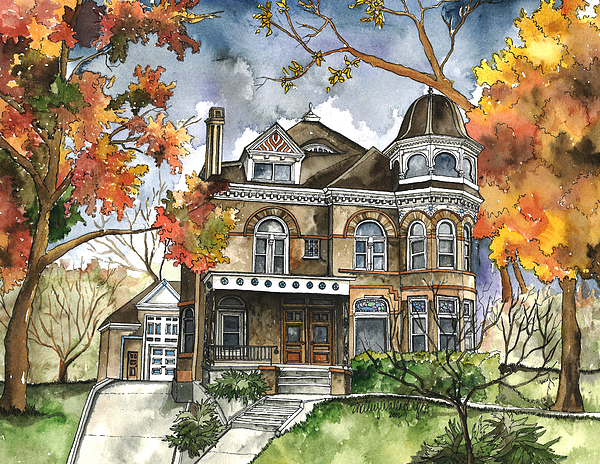 Shelley Wallace Ylst - Victorian Mansion