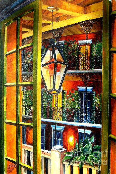 Diane Millsap - View from a French Quarter Balcony