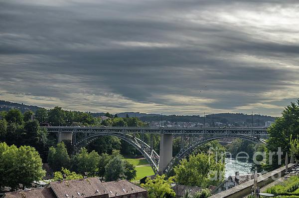 Michelle Meenawong - view on the Kirchenfeld Bridge