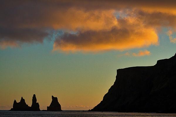 Stuart Litoff - Vik Sea Stacks At Dusk #2 - Iceland