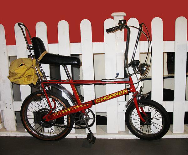 Tom Conway - Vintage 1970s Bike With Rucksack