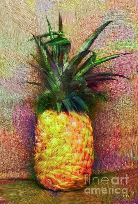 Karen Nicholson - Vintage Pineapple