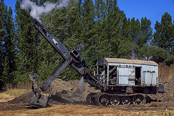 Garry Gay - Vintage steam shovel