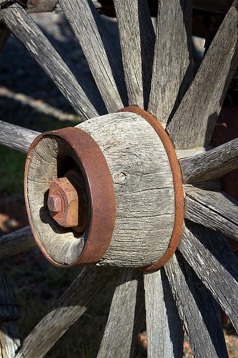 Phyllis Denton - Wagon Wheel Hub