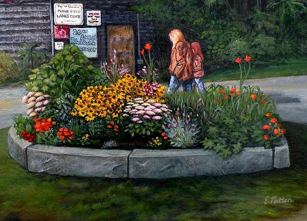 Eileen Patten Oliver - Walking by Morey