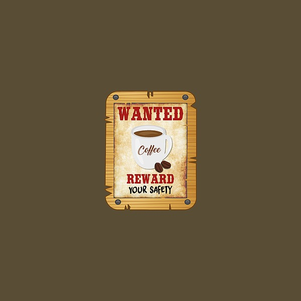Wanted Coffee Photograph