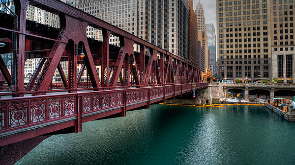 Nisah Cheatham - Well Street Bridge, Chicago