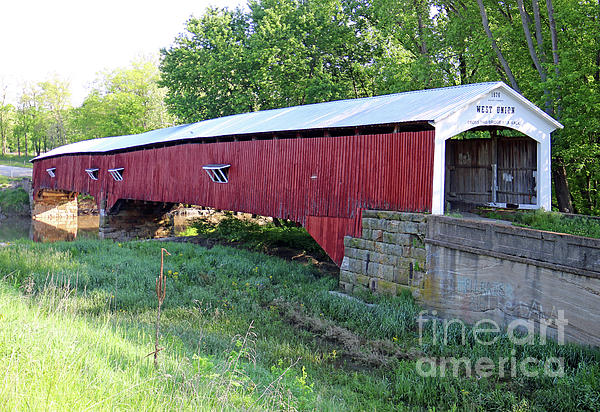 Steve Gass - West Union Covered Bridge, Indiana