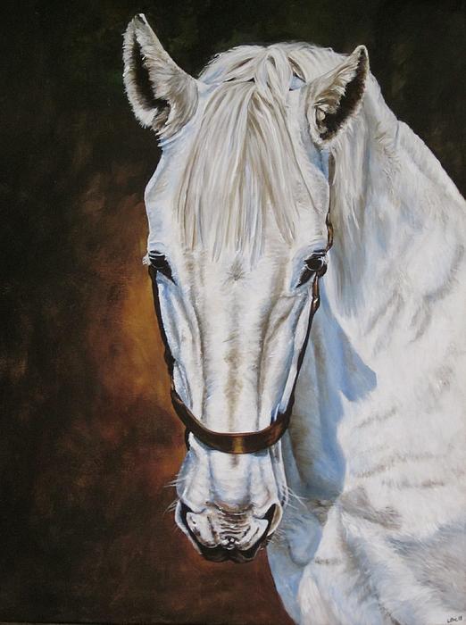 Lillian Bell - White Horse