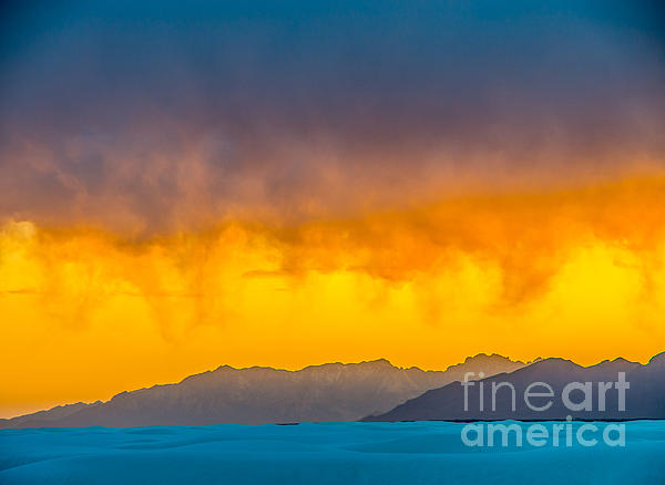 Stephen Whalen - White Sands Sunset 3