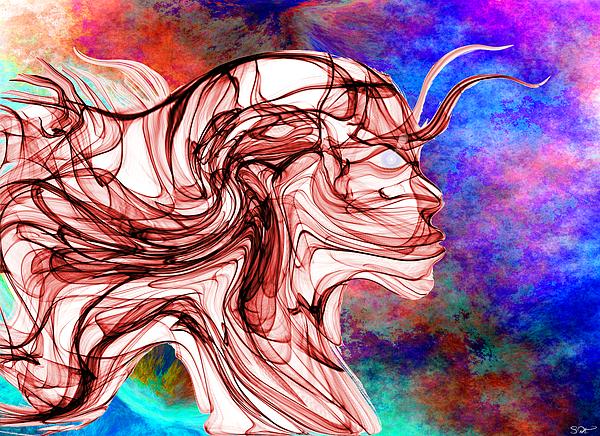 Abstract Angel Artist Stephen K - Wild Spirit, Holy Visions