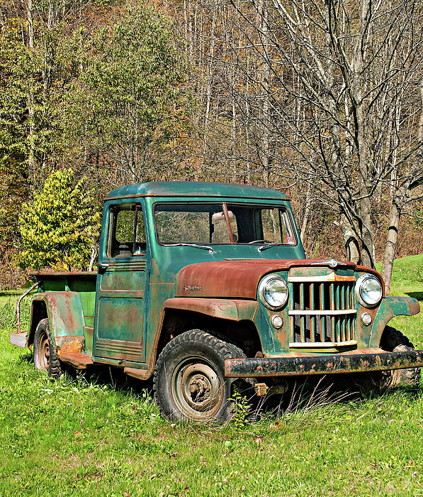 Willys Jeep Pickup Truck Carry-all Pouch For Sale By Steve