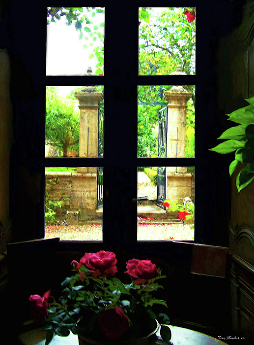 Joan  Minchak - Window and Roses
