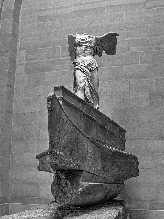 Darin Williams - Winged Victory BW