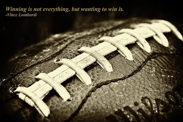 David Patterson - Winning is Not Everything - Lombardi