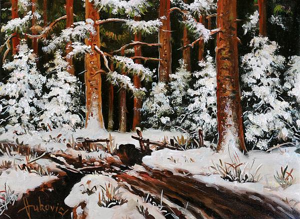 Dusan Vukovic - Winter in the woods