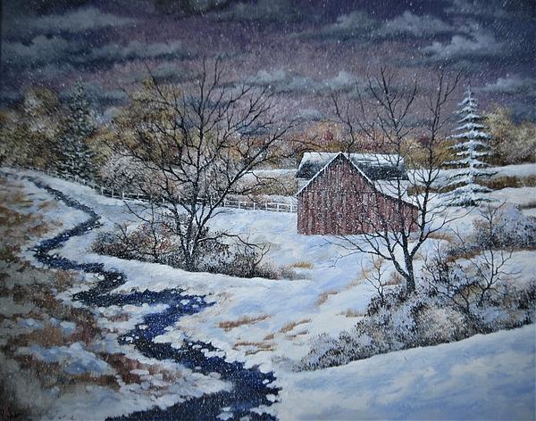 Brian Mickey - Winter Stream