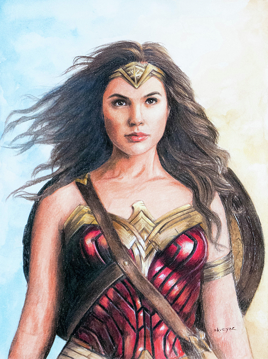 Shreyas Pailkar - Wonder Woman - Gal Gadot