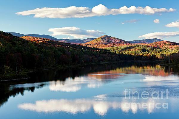 Alan L Graham - Wrightsville Reservoir Autumn Reflections