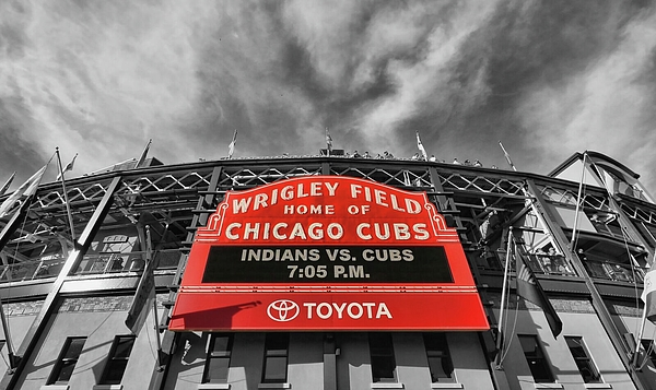 Allen Beatty - Wrigley Field - Home of the Chicago Cubs # 3 - Selective Color
