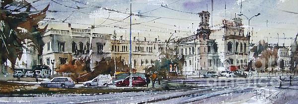 Pawel Gladkow - Wroclaw Railway Station
