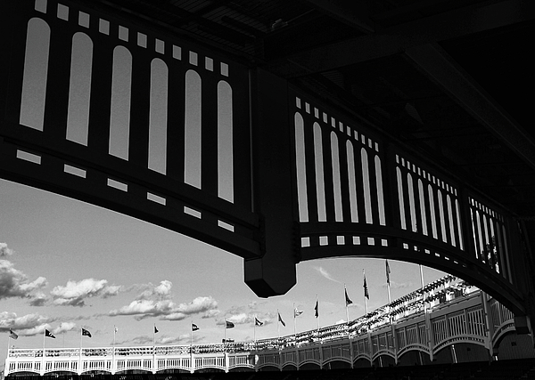 Allen Beatty - Yankee Stadium Facade - B and W
