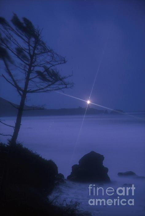 Rick Bures - Yaquina Head at Night
