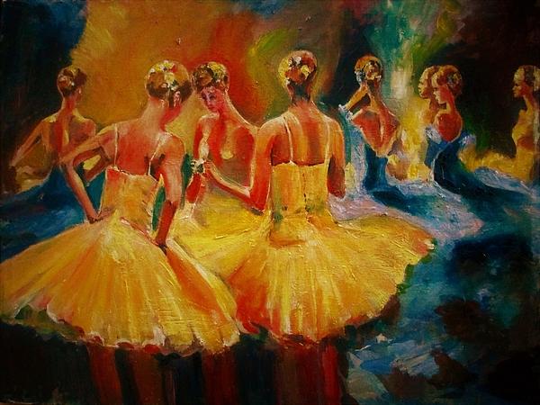 Khalid Saeed - Yellow costumes