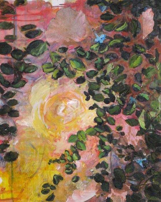 Alicia Kroll - Yellow rose