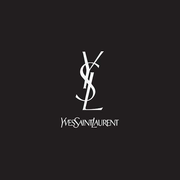 8dafa22bc9d ... Yves Saint Laurent - Ysl - Black. Boundary: Bleed area may not be  visible.