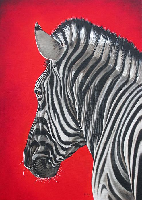 Ilse Kleyn - zebra in African sun