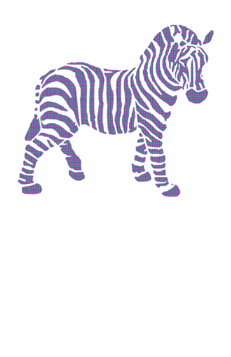 zebra stripes pattern womens t shirt for sale by christina rollo. Black Bedroom Furniture Sets. Home Design Ideas