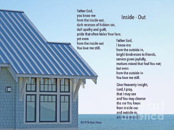 Ann Horn - Prayer Poem