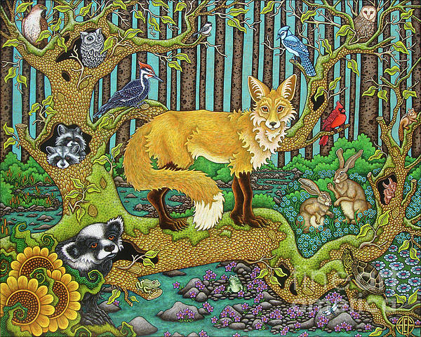 Amy E Fraser - A Vixen in the Forest