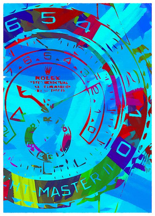 Abstract Rolex Digital Paint 11 Digital Art