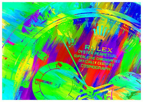 Abstract Rolex Digital Paint 3 Digital Art