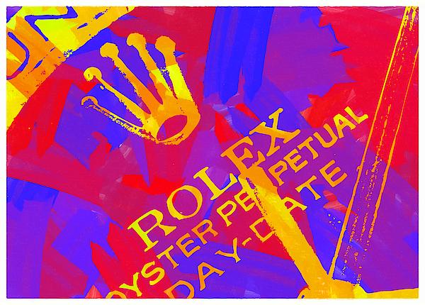 Abstract Rolex Digital Paint 6 Digital Art