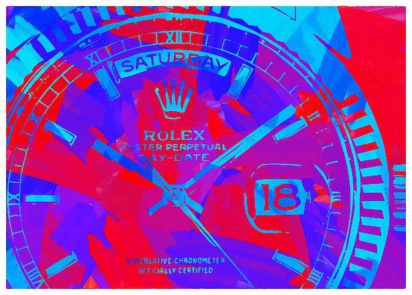 Abstract Rolex Digital Paint 7 Digital Art
