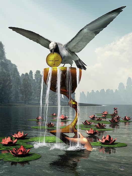 Ace Of Cups Digital Art