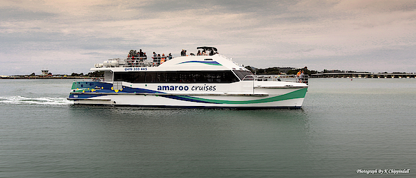 Kevin Chippindall - Amaroo Cruises Forster 22229
