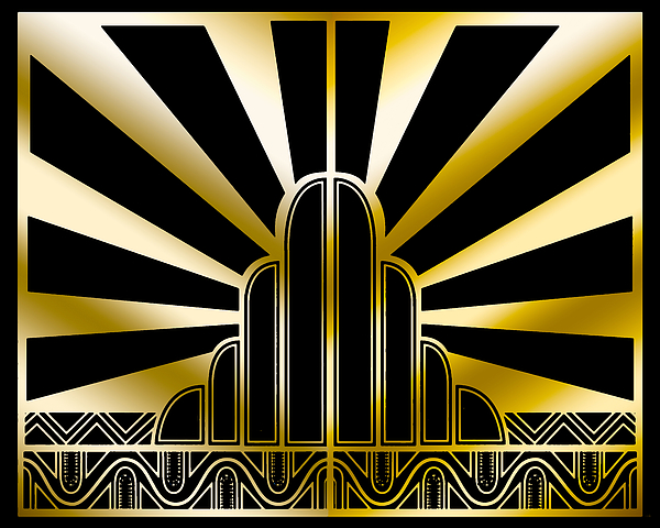 Chuck Staley - Art Deco Poster 2019 Wide