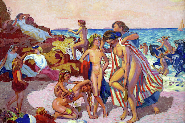 Maurice Denis - Bacchus and Ariadne - Digital Remastered Edition