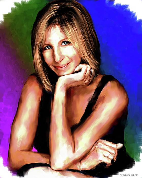 Barbra Streisand Painting Painting
