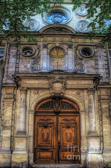 Luther Fine Art - Basilica of Saint Michael  Doorway - Bordeaux