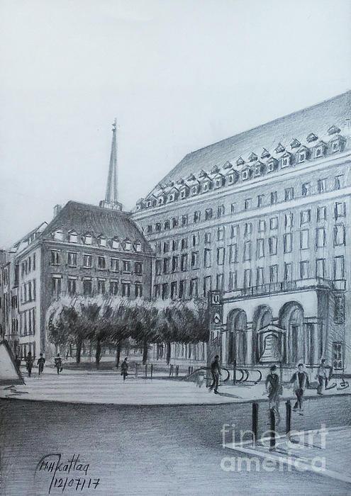 Mohammad Hayssam Kattaa - Bochum City Hall- Bochum