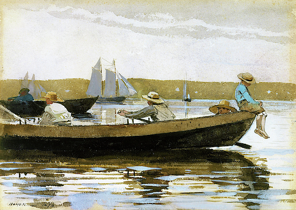 Winslow Homer - Boys in a Dory - Digital Remastered Edition